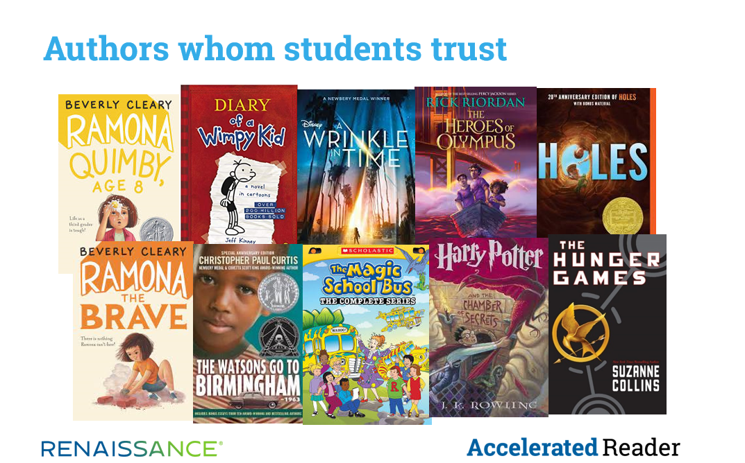 Authors Whom Students Trust